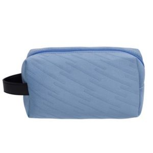 🍁5/$25 ULTA BEAUTY Blue Cosmetic Makeup Bag